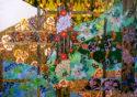 Broken Trellis, Oil on Canvas, 57 x 84 in.
