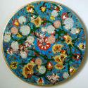 Pattern Tondo, Oil on Canvas, 18 in. diameter