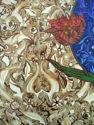 Alhambra Night Tulip, Detail
